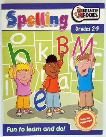 Spelling - Years 2-3 (tear out pages for easy photocopying)