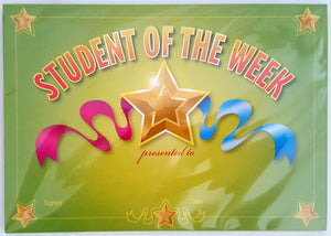 Student of the Week - Quantity 35 *NEW