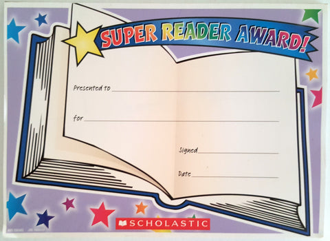 Super Reader Award! (36)