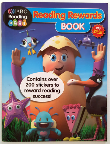 Reading Eggs: Reading Rewards Book (incl 200 stickers)