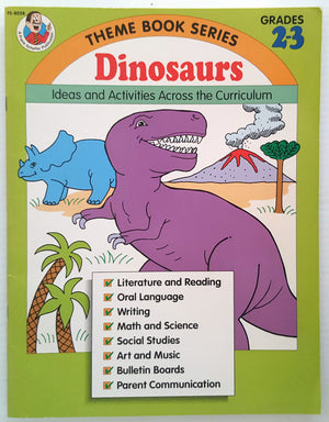 Frank Schaffer - Dinosaurs Ideas and Activities Across the Curriculum (Yrs 2-3)