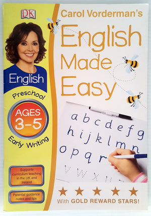 DK English Made Easy - Early Writing (Ages 3-5)