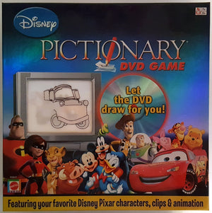 Disney Pictionary DVD Game (Mattel) (Ages 7+)