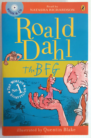The BFG (Book &  4 x CD)