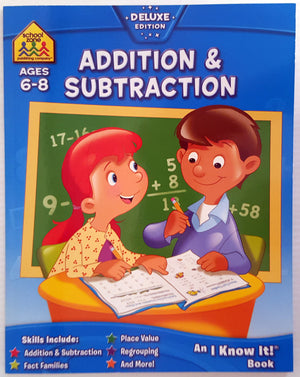 School Zone - Addition & Subtraction (Ages 6 - 8)