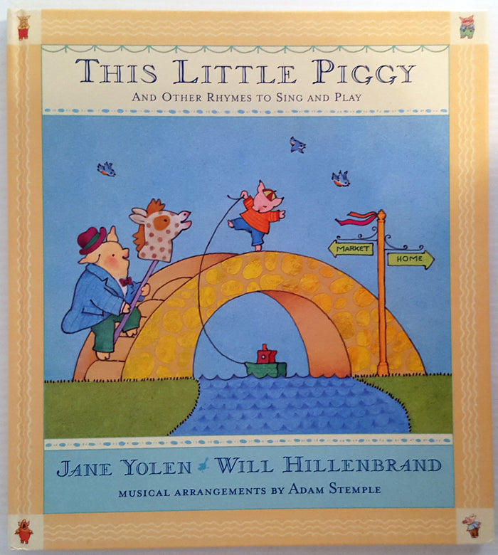 This Little Piggy and Other Rhymes to sing and Play (Book & Music CD)