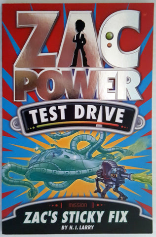Zac Power - Test Drive : Zac's Sticky Fix