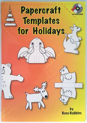 Papercraft Templates for Holidays (includes CD)