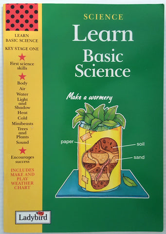 Learn Basic Science (includes make and play weather chart)