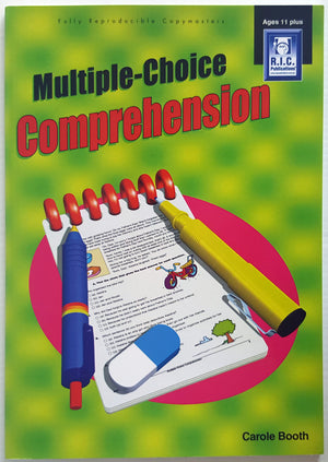 Multiple Choice Comprehension (Ages 11+)