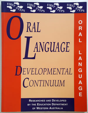First Steps Oral Language Developmental Continuum