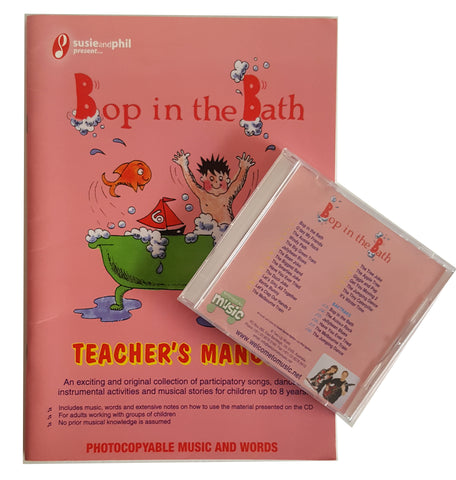 Bop in the Bath Teacher's Kit - Manual & CD