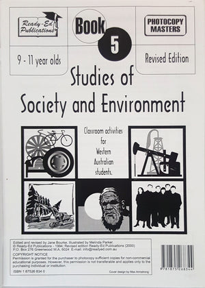 Studies of Society and Environment - Student Workbook 5 (Ages 9 - 11)