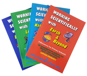 Working Scientifically - Set 4 Books (upper primary)