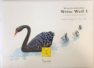 Write Well 1 (Victorian Modern Cursive) - Handwriting for Year One