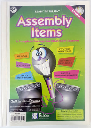 Assembly Items : Includes CD  (Ages 5-7)