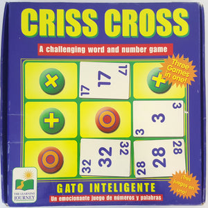 Criss Cross - Three Games in One