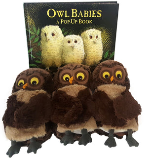 Owl Babies : A Pop-Up Book + 3 Owl Hand Puppets