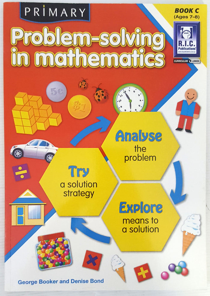 Problem Solving in Mathematics - Book C (Ages 7 to 8)