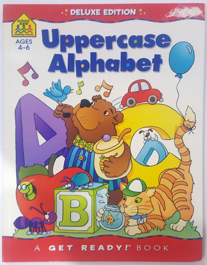 Uppercase Alphabet - Deluxe Edition (Ages 4 to 6)