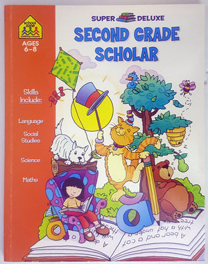School Zone - Second Grade Scholar - Super Deluxe (Ages 6-8