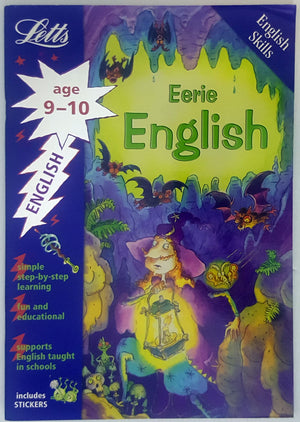 Letts English Skills - Eerie English (Ages 9-10) *SC