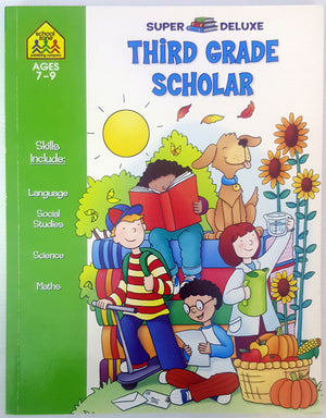 School Zone - Third Grade Scholar - Super Deluxe (Ages 7-9)