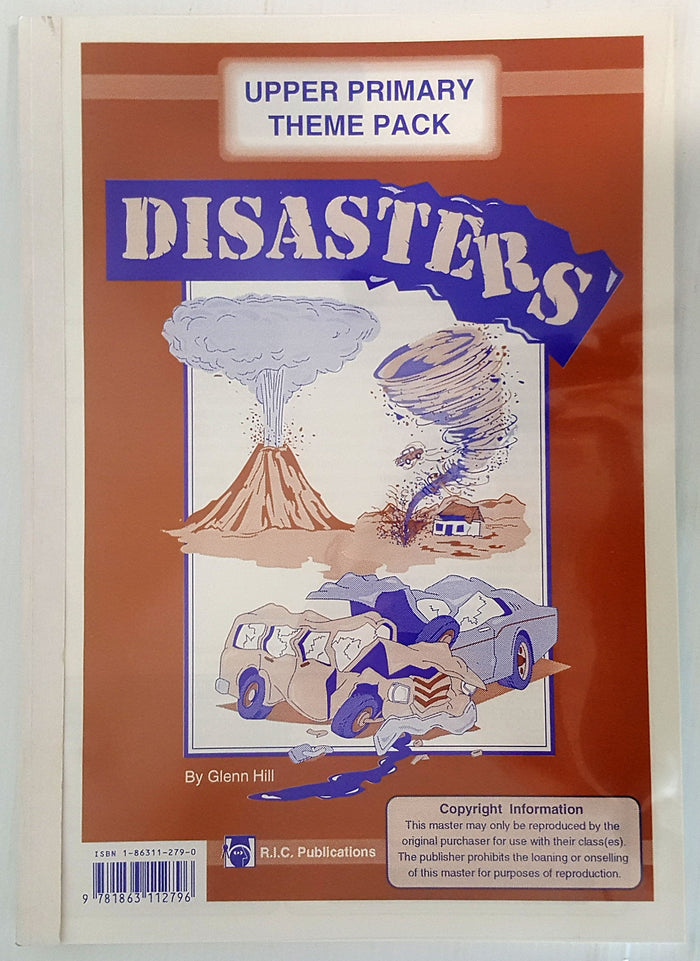Upper Primary Theme Pack - Disasters