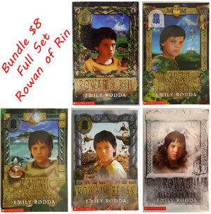 Emily Rodda Bundle - Rowan of Rin (5 Books)