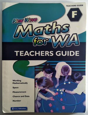 New Wave Maths for WA Teachers Guide - Book F (Ages 10 to 11)
