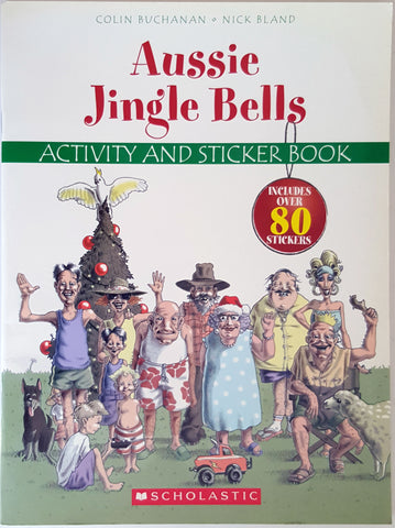 Aussie Jingle Bells - Activity and Sticker Book (Unused)