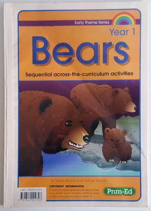 Bears - Sequential across the curriculum activities