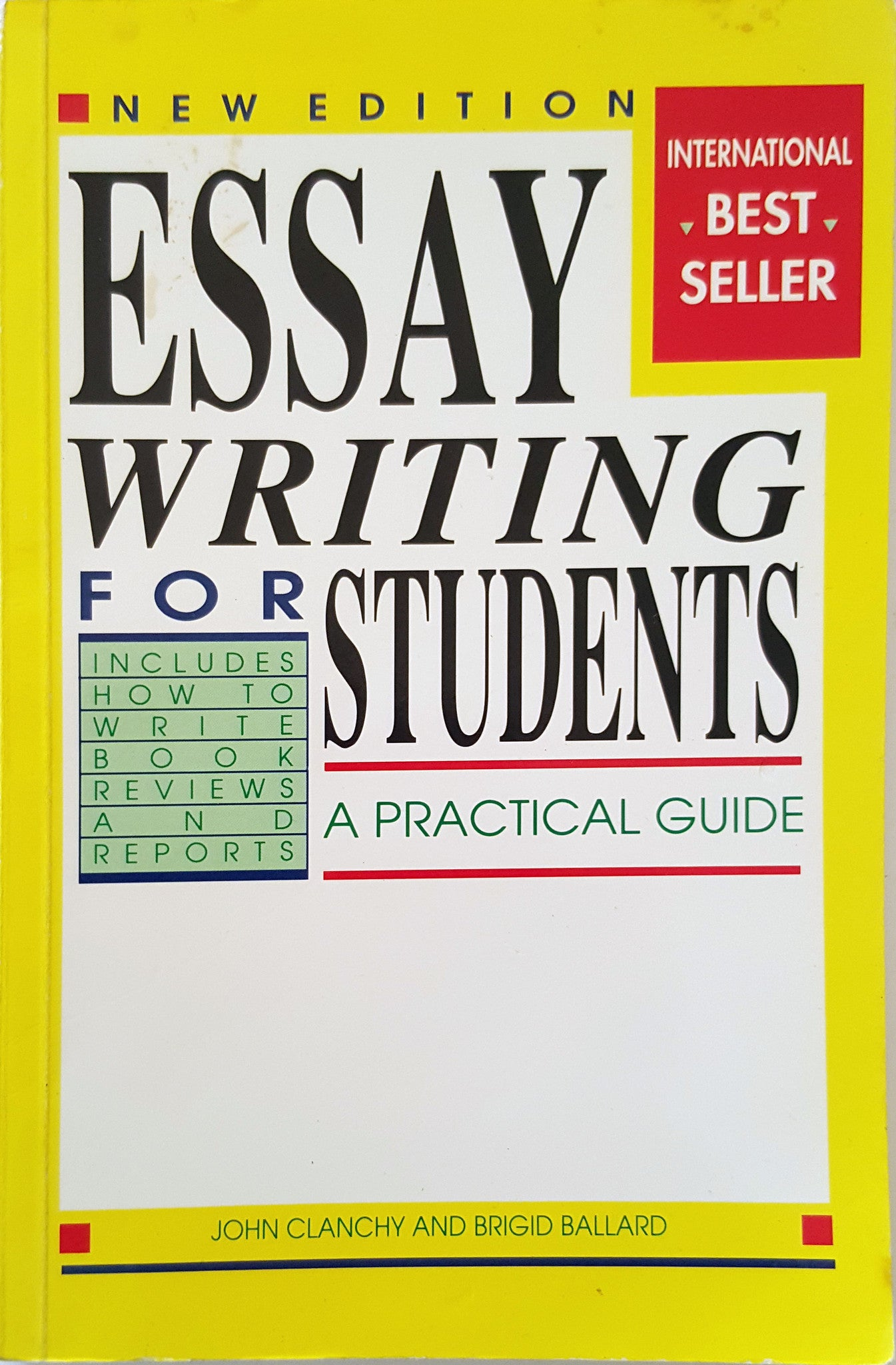 essay writing for students clanchy ballard