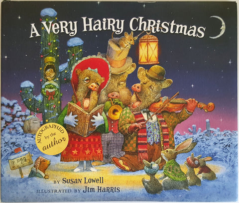 A Very Hairy Christmas  (Autographed by Author)