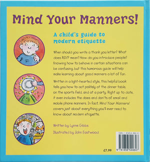 Mind Your Manners - A Child's Guide to Modern Etiquette