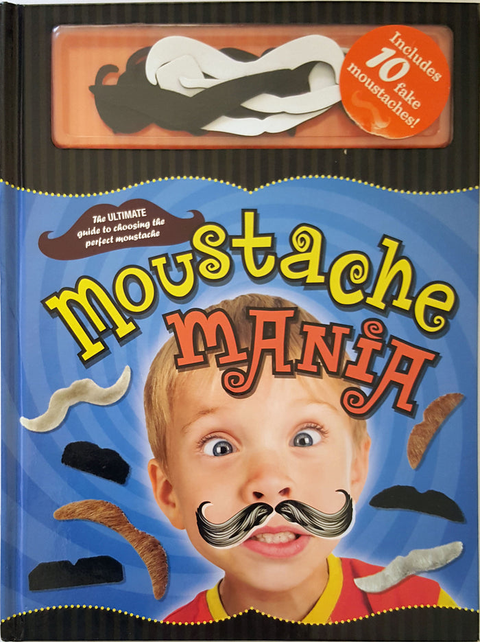 Moustache Mania (includes 10 fake moustaches)