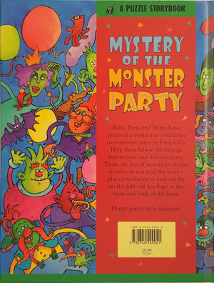 Mystery of the Monster Party - A Puzzle Storybook