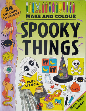Make and Colour Spooky Things