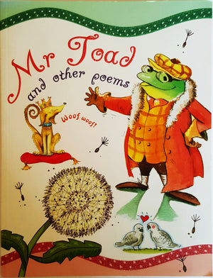 Second Hand Books - Mr Toad and other poems