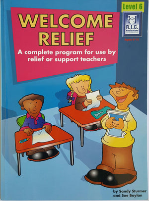 RIC Publications - Welcome Relief - Year 6
