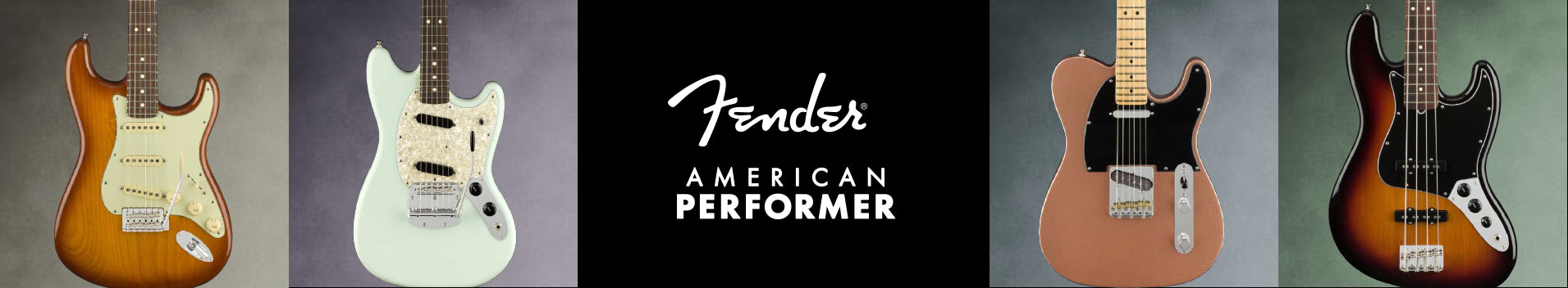 Fender — American Performer Series