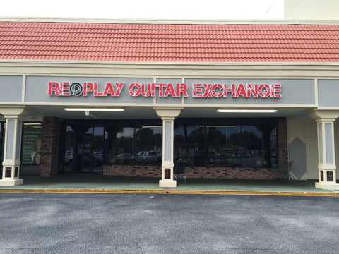 Replay Guitar Exchange Store Front