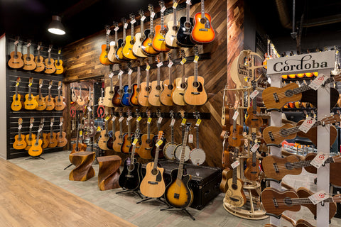 Replay Guitar Exchange Acoustic Room