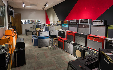 Replay Guitar Exchange Amp Room