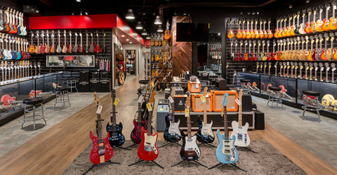 Replay Guitar Exchange Main Showroom