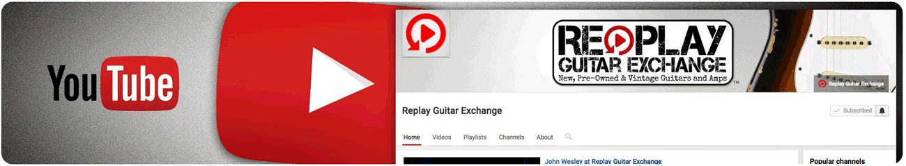 Replay Guitar Exchange Youtube