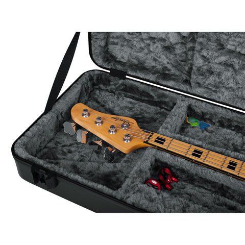 Gator GTSA-GTRBASS-LED TSA ATA Molded Bass Guitar Case with LED Light