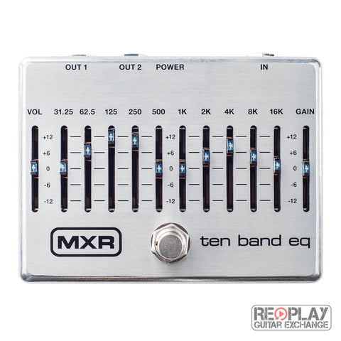 MXR M108 10 Band Graphic EQ