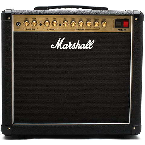 Marshall DSL20CR Combo Guitar Amplifier, 20W