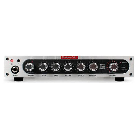 Positive Grid Bias Mini 300W Guitar Head, front